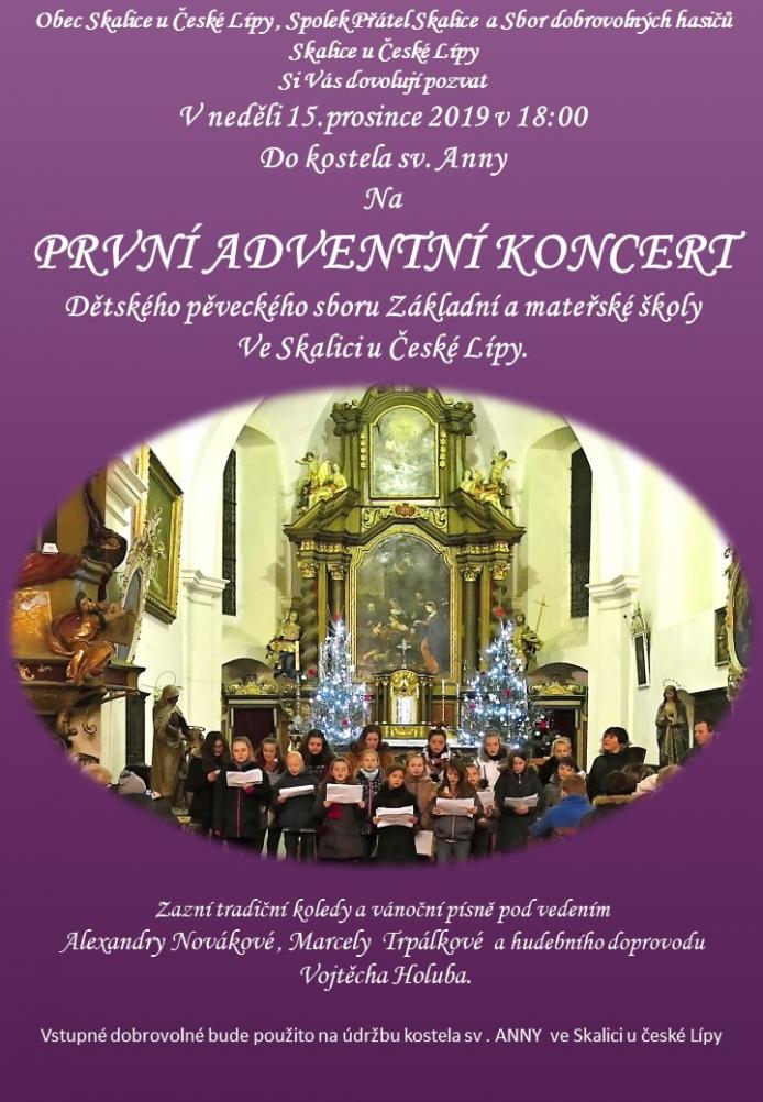 První adventní koncert